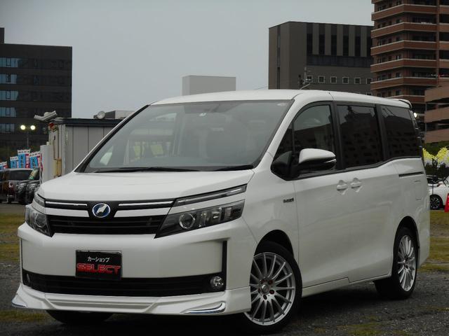 トヨタ ハイブリッドV アルパイン10インチナビ&リアモニター