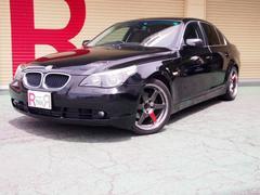 BMW525iハイラインパッケージ 黒本革 ヒーター DVDマルチ
