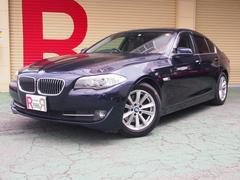 BMW523d HDDナビ Bカメラ アイスト 黒本革 ヒーター