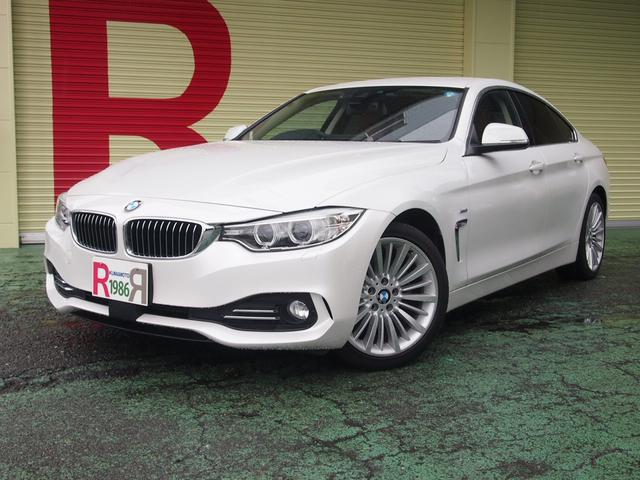 BMW 420iグランクーペ ラグジュアリー HDDナビ 本革シート