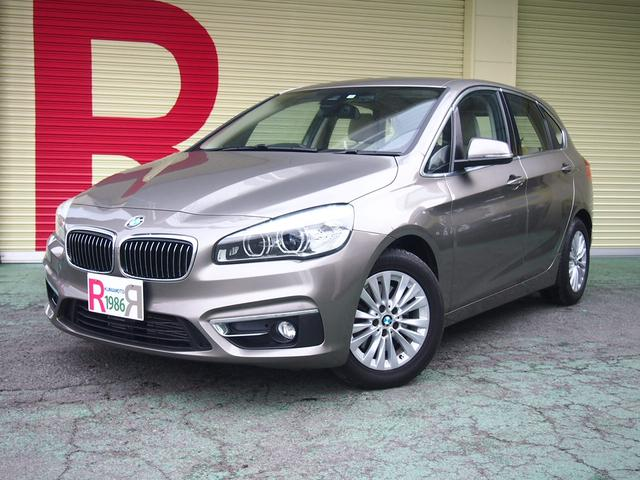 BMW BMW 218iアクティブツアラー ラグジュアリー 衝突警告 HDD