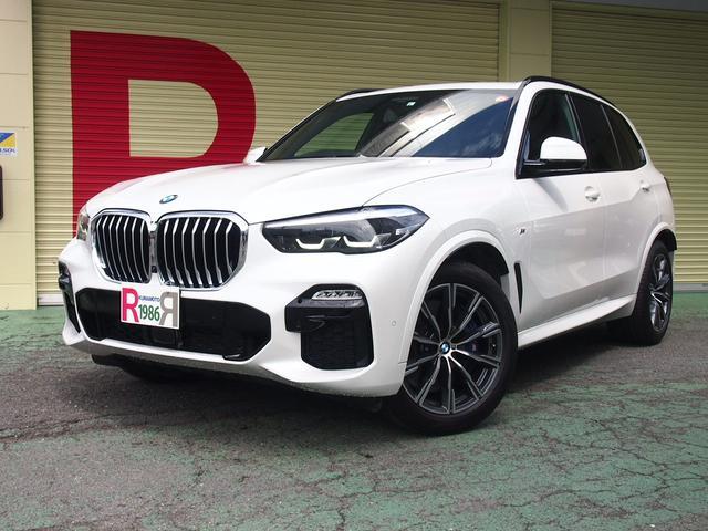 BMW X5 xDrive 35d Mスポーツ 本革 SR 衝突被害軽減