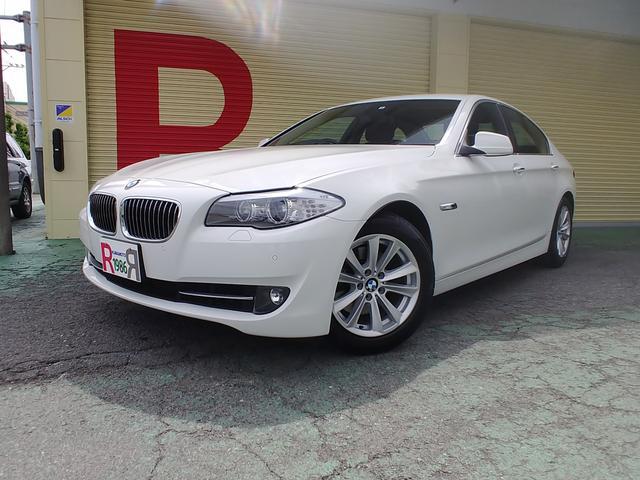 BMW 5シリーズ 523i ハイラインパッケージ 純正10.2型HDDナビ フルセグTV DVD Bカメラ ミラーETC 黒本革シート シートH パワーシート 木目調パネル 電動サンシェイド EGプッシュ アイスト バイキセノン 純正17AW