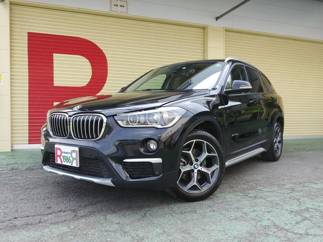 BMW X1 xDrive 18d xライン ハイラインパッケージ 純正HDDナビ フルセグTV バックカメラ ミラーETC 黒本革シート シートヒーター パワーバックドア インテリジェントセーフティ 衝突軽減 レーダークルコン スマートキー アイスト 18AW