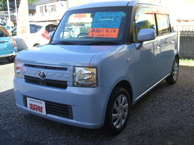 トヨタ X アイドリングストップ/社外ナビ/CD/ブルートゥース/オートAC/電動格納ミラー/ドライブレコーダー