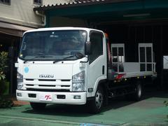 エルフトラック3t キャリアカー ナビ ETC