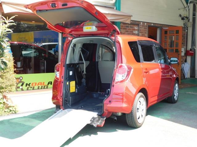 トヨタ ラクティス G ウェルキャブ 車いす仕様車 タイプI 助手席側リヤシート付 福祉車両 ナビTV Rカメラ