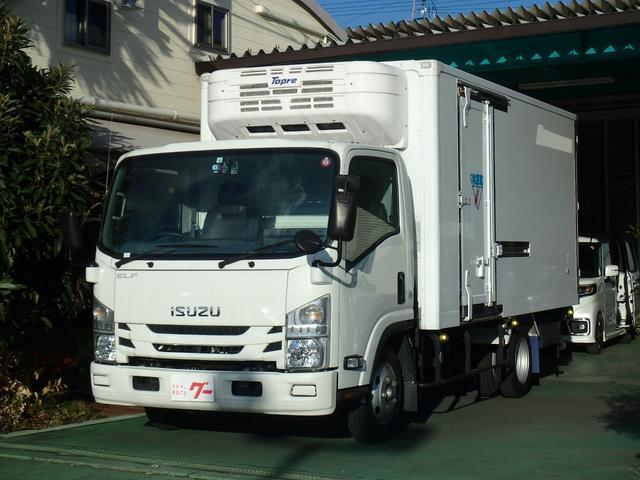 いすゞ  冷凍車 2t積載 オートマ SDナビ ETC キーレス デジタルインナーミラー