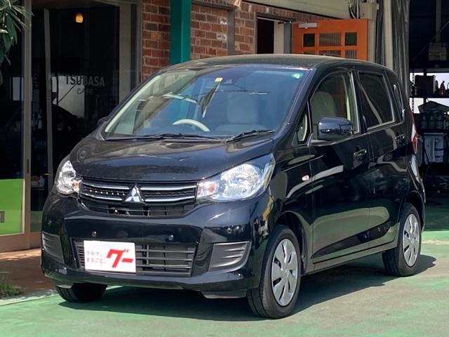 三菱 eKワゴン M e-アシスト 衝突軽減ブレーキ クリアランスソナー ナビ Bluetooth接続 バックカメラ シートヒーター ETC スマートキー オートエアコン