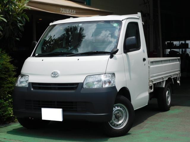 トヨタ タウンエーストラック DX シングルジャストロー 三方開 純正ナビ Bluetooth接続 Wエアバッグ ETC エアコン パワステ