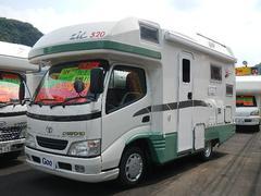 カムロードキャンピング バンテック社製 ZIL520 リヤ2段ベッド