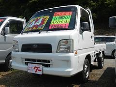 サンバートラックTB エアコン・パワステ・エアバック 5速ミッション 4WD