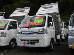 ハイゼットトラック多目的ダンプ キーレス・メモリーナビ・フルセグTV・ETC・