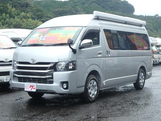トヨタ キャンピング トイファクトリー社製 BADEN 4WD