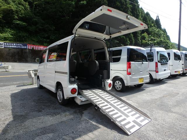 三菱 福祉車両 スローパー 車椅子移動車 キーレス フォグランプ