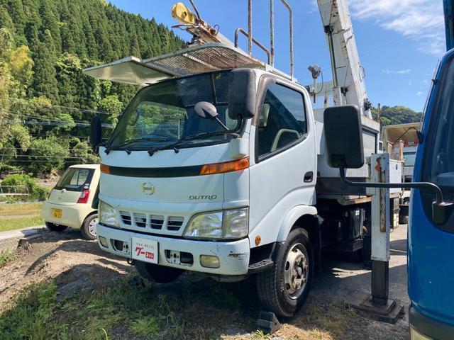日野  高所作業車15M フル装備 4WD 運転席エアバッグ ABS