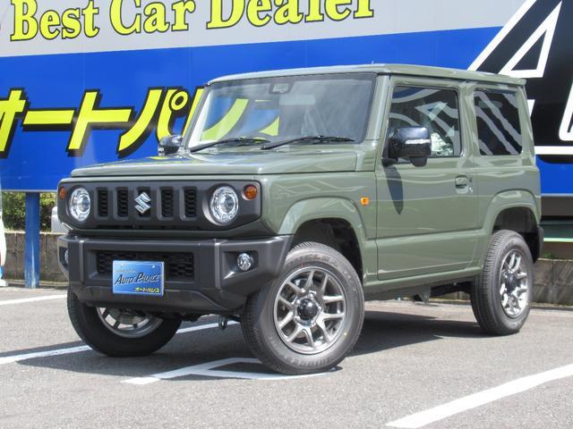 ジムニー(スズキ) XC スズキセーフティサポート LEDオートハイビーム ガラス&ボディコーティング付 届出済未使用車 中古車画像