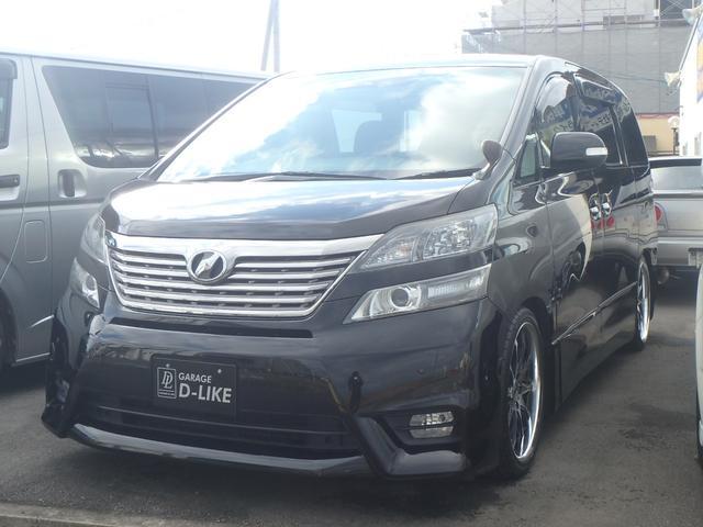 トヨタ 2.4Z HDDナビフルセグ 両側パワスラ 車高調 19AW