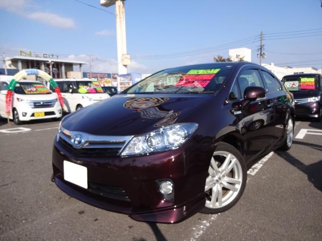 トヨタ S 純正HDDナビ 社外18インチアルミ HIDライト
