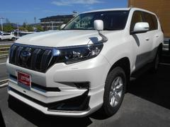 ランドクルーザープラドTX サンルーフ 寒冷地仕様 登録済み未使用車 メーカー保証
