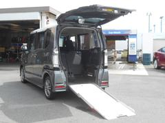 N BOX+カスタムG 福祉車両 車いす仕様 アルミスロープ 電動ウィンチ