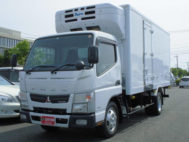 三菱ふそう 3.0DT 冷蔵冷凍車 東プレ製 -30℃ フロント板バネ
