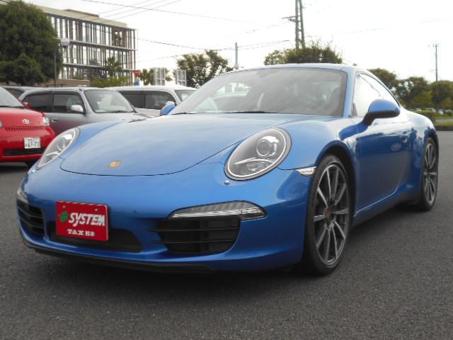 ポルシェ 911カレラ スポーツクロノパッケージ 左ハンドル 7MT