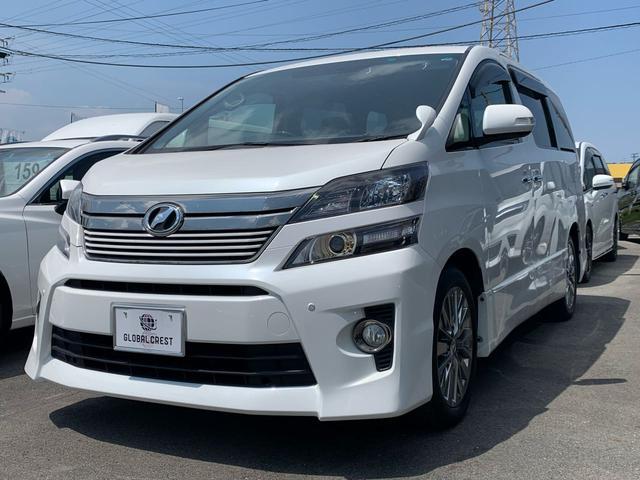 トヨタ 2.4Z ゴールデンアイズ SDナビフルセグTV後席モニター