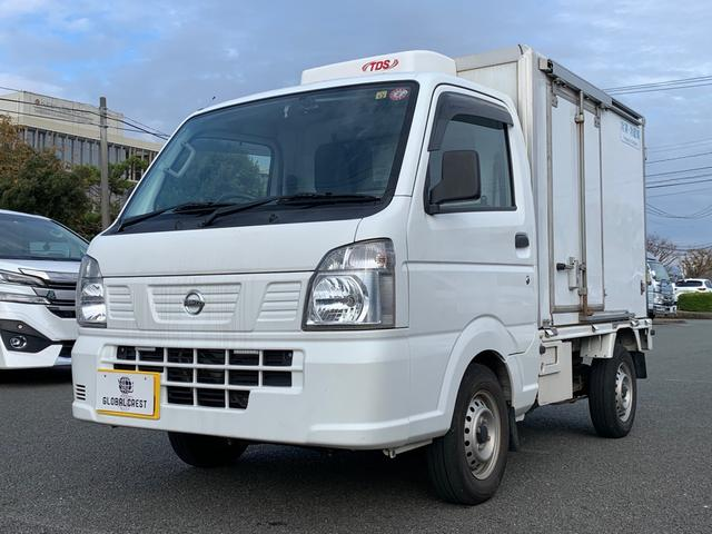 日産 NT100クリッパートラック  冷蔵冷凍車0.35t/冷凍機付き-30℃表示/オートマ/