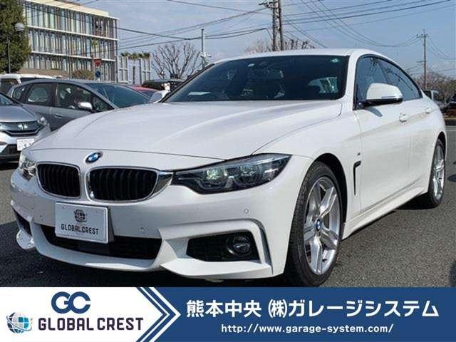 BMW 4シリーズ 420iグランクーペ Mスポーツ 純正HDDナビフルセグTV&バックモニター/LEDヘッドライト/アクティブクルーズコントロール/レーンキープアシスト/コンフォートアクセス/18インチアロイホイル/アルカンターラシート