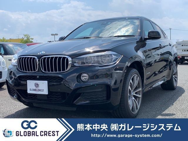 BMW X6 xDrive 50i Mスポーツ サンルーフ/ブラウン&ブラックコンビレザーシート/20インチアルミホイルタイヤ新品装着/ヘッドアップディスプレイ/アクティブクルーズコントロール/コンフォートパッケージ/LEDヘッドライト