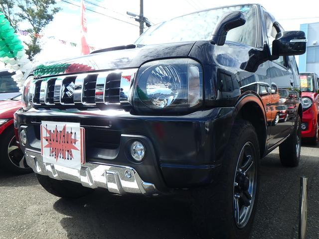 スズキ クロスアドベンチャー 5速4WDターボ 背面タイヤ アルミ