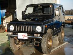 ジムニー4WD ターボ レカロシート HDDナビTV リフトアップ