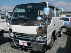 エルフトラックWキャブ 2t スムーサー5速 新品メッキパーツ 新品マット