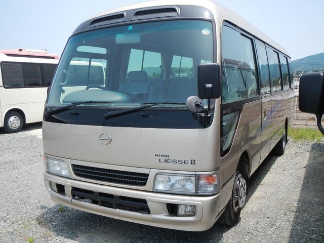 日野 29人乗り 電動ドア フロアAT 送迎バス バックカメラ