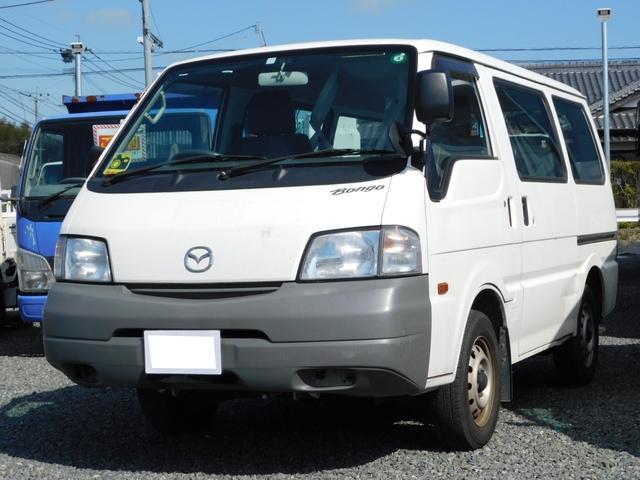 マツダ ボンゴバン DX 低床 Rカメラ ETC ガソリン車 ABS エアコン パワステ パワーウィンドウ