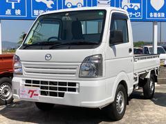 スクラムトラック 4WD 5速マニュアル エアコン パワステ 三方開