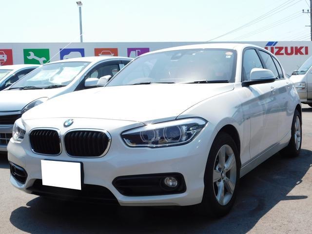 BMW 1シリーズ 118i スポーツ 純正ナビ・CD・DVD再生・バックカメラ・Bluetooth接続・スマートキー・プッシュスタート・HIDヘッドライト