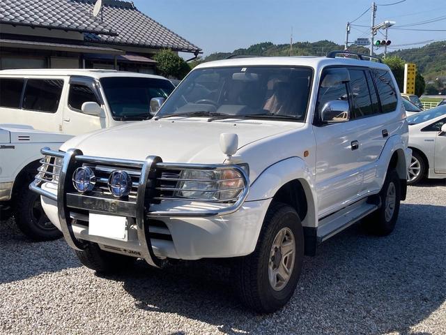 トヨタ ランドクルーザープラド TX 4WD ディーゼル サンルーフ HDDナビフルセグTV バックカメラ キーレス 純正アルミ タイミングベルト交換済