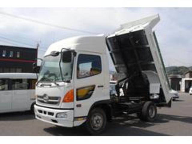 日野 ダンプ ハイル-フ 最大積載量3750kg