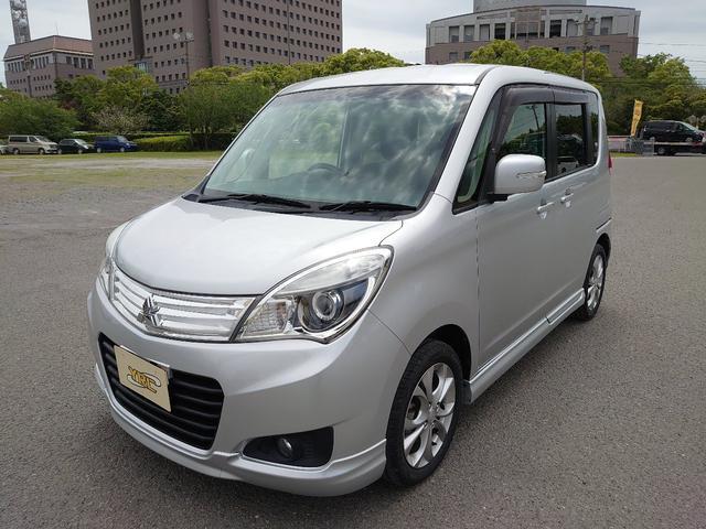 三菱 S AS&G メモリ-ナビ  両側パワスラ タイヤ新品