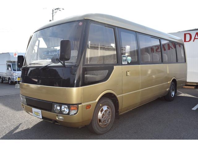 三菱ふそう  29人乗りバス 自動ドア ディ-ゼルタ-ボ 後輪エアサス