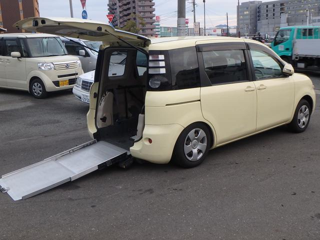 トヨタ G 福祉車両 スライドドア ニールダウン機能付き CD
