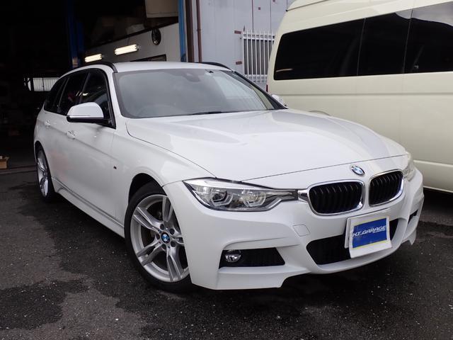 BMW 320dツーリング Mスポーツ 衝突軽減ブレーキ HDDナビ バックカメラ パドルシフト アダプティブクルーズコントロール パワーシート ETC 電動リヤゲート 18インチアルミ ディーゼルターボ