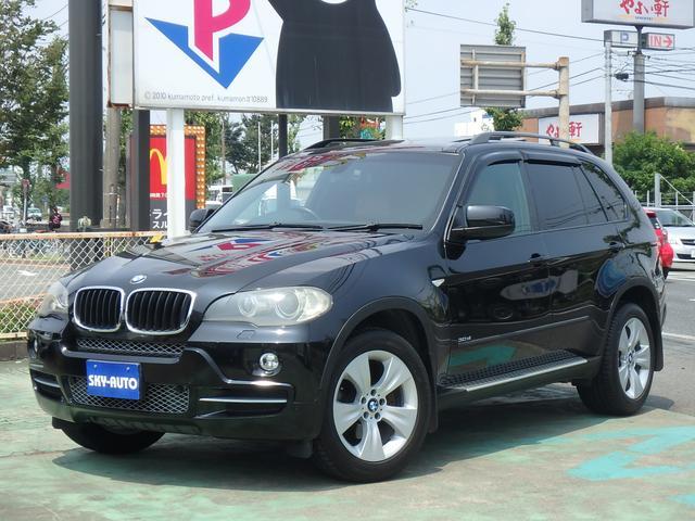 BMW X5 3.0si ナビ サンルーフ 革シート Rカメラ E...