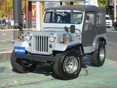 ジープディーゼルターボ 4WD 純正ホイール有/幌付き