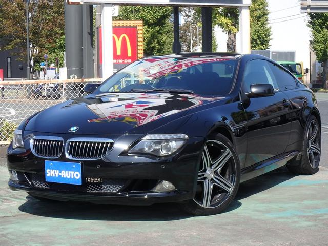 BMW 630i WALD20inアルミ ガラスルーフ レザーシート