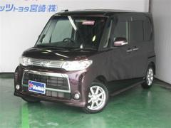 タントカスタムX T Value車 メモリーナビフルセグTV
