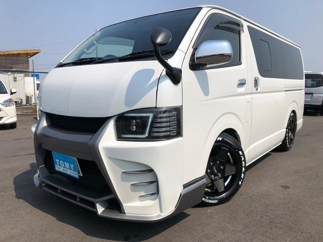 トヨタ SーGL 公認8人乗 HDナビ FDモニター フローリング