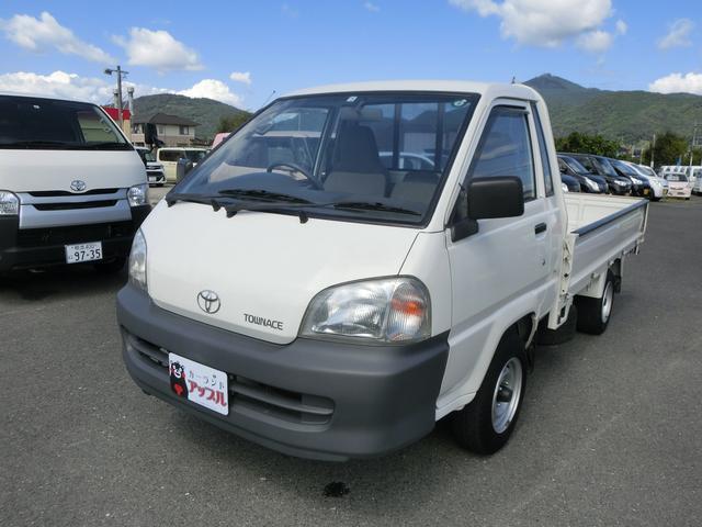 トヨタ タウンエーストラック ロングSシングルジャストローDX エアコン パワステ パワーウィンドウ 5速ミッション CD